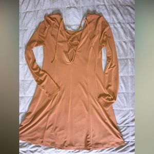 Forever 21 sexy lace up dress